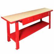 banco-de-trabajo-3-cajones-2-metros-encimera-madera