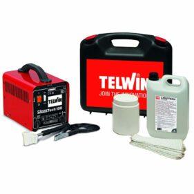 limpiador soldadura tig kit telwin cleantech 100