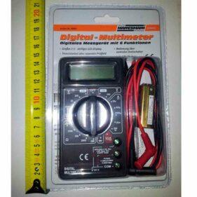 tester multimetro digital 6 funciones