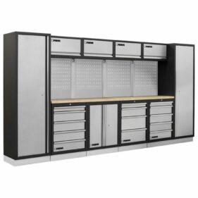 conjunto muebles modulares armarios taller fervi a007a