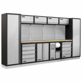 conjunto muebles modulares armarios taller fervi a007b