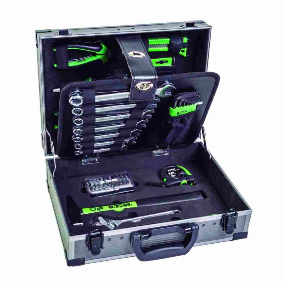 Maleta con herramientas 63 piezas B.tool TB63