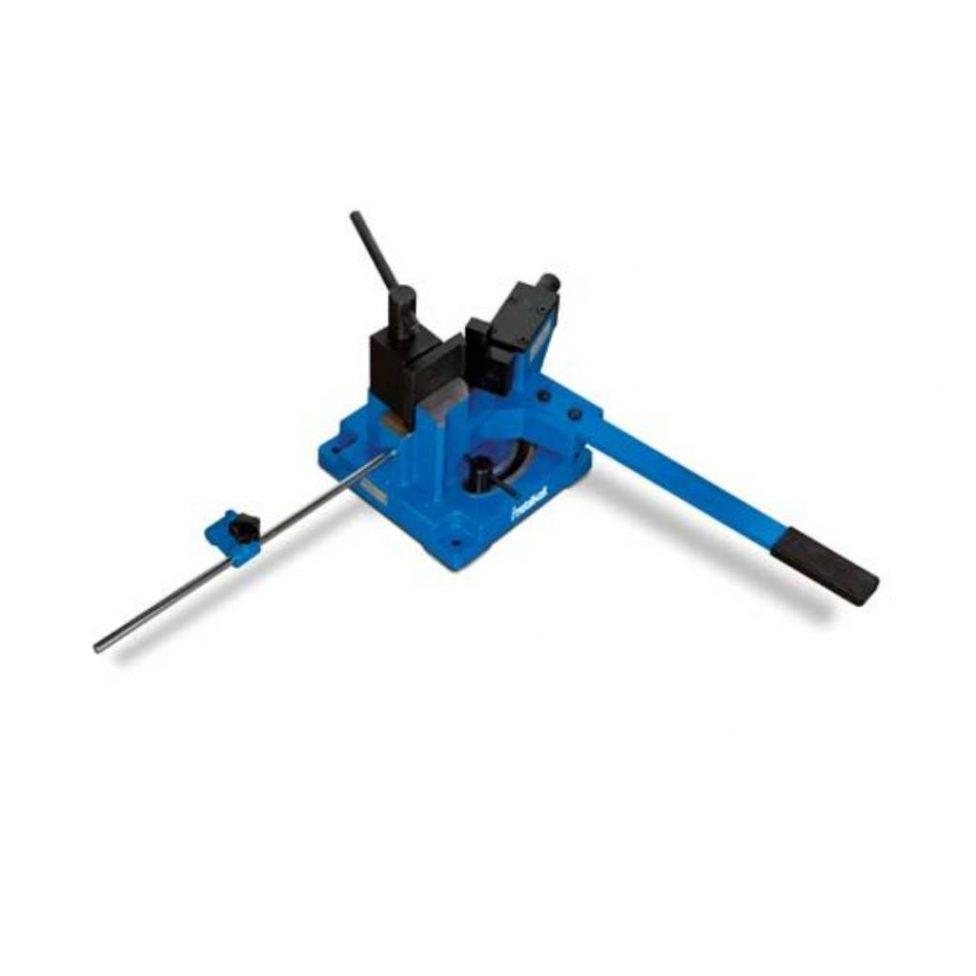Curvadora de perfiles y tubos manual Metallkraft WB 100