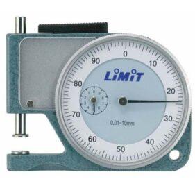 medidor de espesor comparador de bolsillo 10 mm